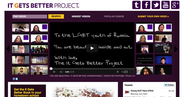 """it gets better project """"it gets better"""" project is a social media campaign launched by american author and gay rights advocate dan savage in an effort to prevent suicide among lgbt."""